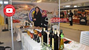 HRÜ organik ürünlerini fuara taşıdı