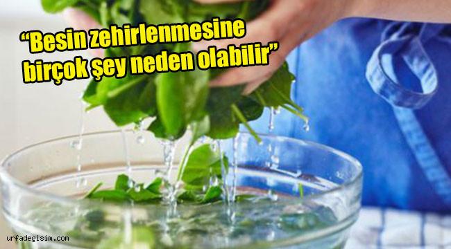 Ispanağı karbonat ile temizleyin!