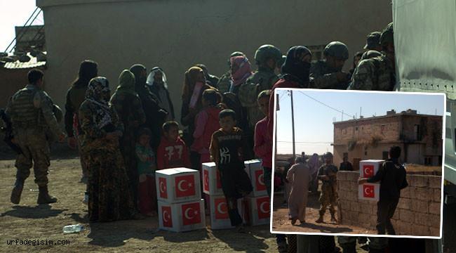 Kızılay'ın sivillere yardımı sürüyor