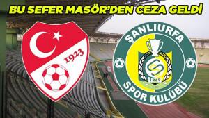 PFDK'dan Urfaspor'a yine para cezası