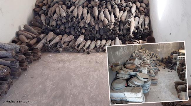 PKK/YPG'ye ait mayın depolama tesisi bulundu