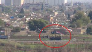 Rejim askerleri Kamışlı'da devriye attı