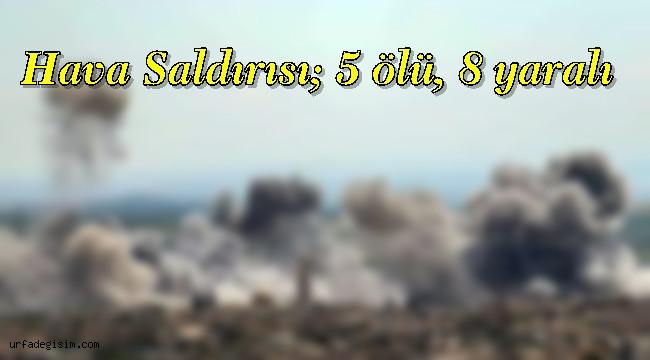 Rus Uçaklarından İdlib'e Hava Saldırısı