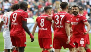 Sivasspor - Kayserispor 25. randevuda