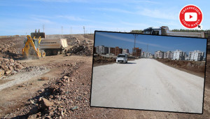 Siverek'te yeni yol ağları açılıyor