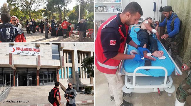 Suriyeli doktorlar öncülüğünde hizmet veriyor
