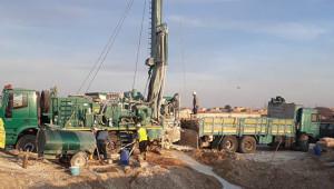 Telabyad ve Resulayn'da su kuyuları açılıyor