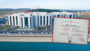 Tıp Fakültesine uluslararası yetki belgesi