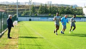 Trabzonspor'da Mikel, Onazi ve Ekuban Özel Çalıştı