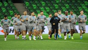 Trabzonspor, Krasnodar Maçı Hazırlıkları Tamam