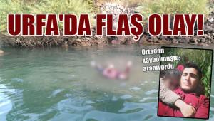Turistler suda ceset buldu