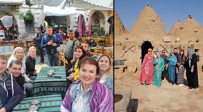 Ukraynalılar, turizm için Urfa'yı önerecek