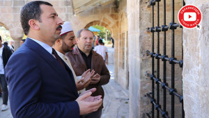 Vatandaşları Ali Dede Hayratı'na davet etti