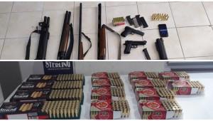 Yasa dışı silah operasyonu; 24 gözaltı
