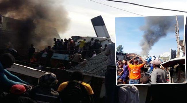 Yolcu uçağı düştü: 17 ölü