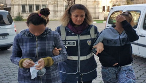 Ziynet eşyası hırsızlığı zanlısı 2 kadın yakalandı