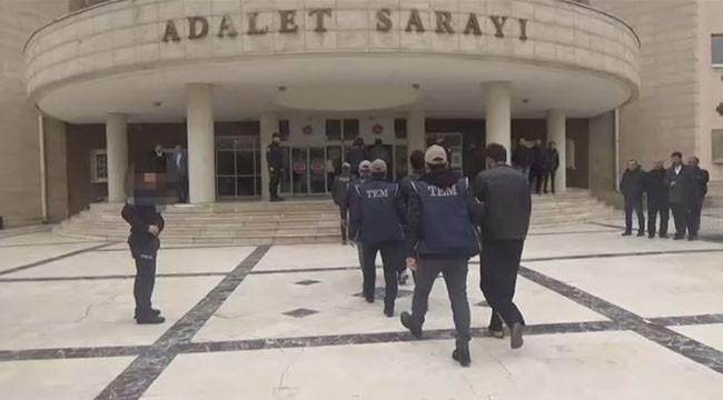 104 şüpheliden 99'u tutuklandı
