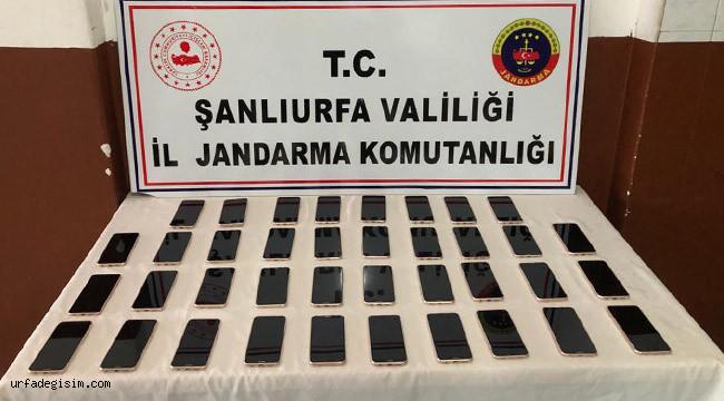 38 kaçak telefon ele geçirildi: 1 gözaltı