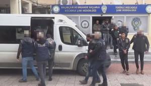 8 terörist tutuklandı
