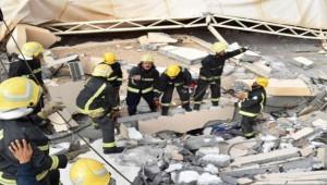 Arabistan'da üniversitenin duvarı çöktü; 2 ölü, 13 yaralı