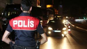 Asayiş uygulamasına 890 polis katıldı