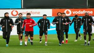 Beşiktaş - Kayserispor maçı hazırlıklarını tamamladı