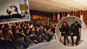 Engelli öğrenciler için sahneye çıktılar