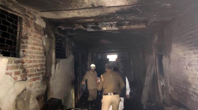 Fabrikada yangın: 43 ölü