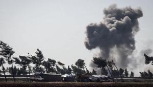 Halep'e hava saldırısı: 4 yaralı