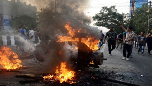 Hindistan'da vatandaşlık yasası protestosu