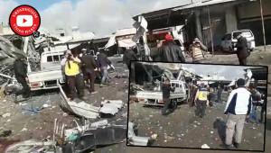 İdlib'e saldırı: 11 ölü, 15 yaralı
