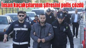 İnsan kaçakçıları şafak operasyonu ile yakalandı