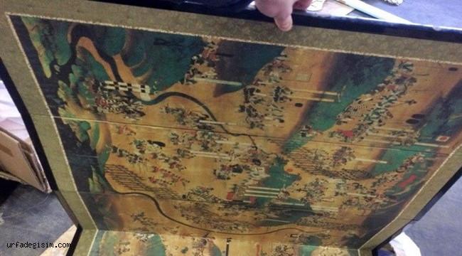 Japonya'dan Ukrayna'ya getirilen tarihi eserler sınırda yakalandı