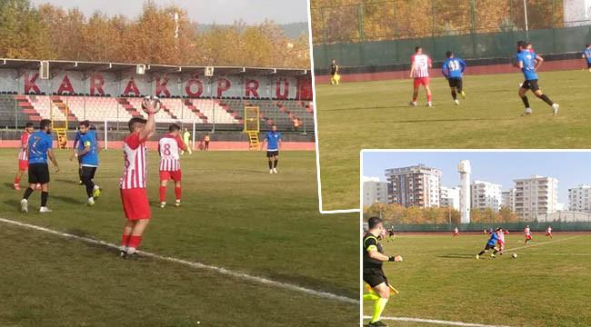 Karaköprü Belediyespor - Çankaya FK: 1-0