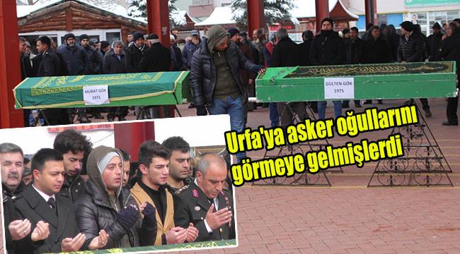 Kazada hayatını kaybedenler toprağa verildi