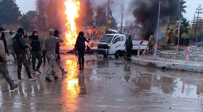 Rasulayn'da 2 patlama: 1 ölü, 6 yaralı