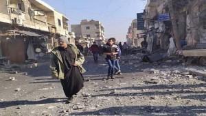 Rejim uçakları Serakib'i vurdu;7 ölü, 20 yaralı