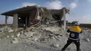 Rus savaş uçakları İdlib'e saldırdı; 2 ölü, 5 yaralı