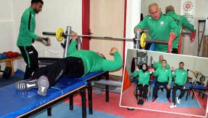 Şanlıurfalı engelli sporcular hedef büyüttü