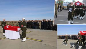Şehit Çınar'ın cenazesi memleketine uğurlandı