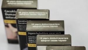 """""""Sigarada siyah paket uygulaması başladı"""""""