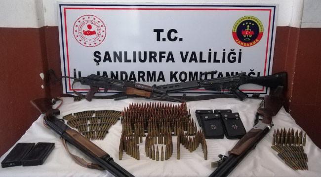 Silah ve mühimmat ele geçirildi: 5 gözaltı