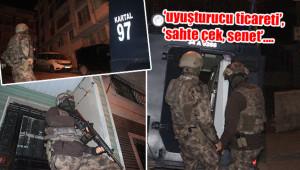 Silahlı suç örgütüne operasyon düzenlendi
