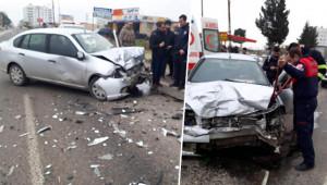 Suruç'ta trafik kazası: 1 yaralı