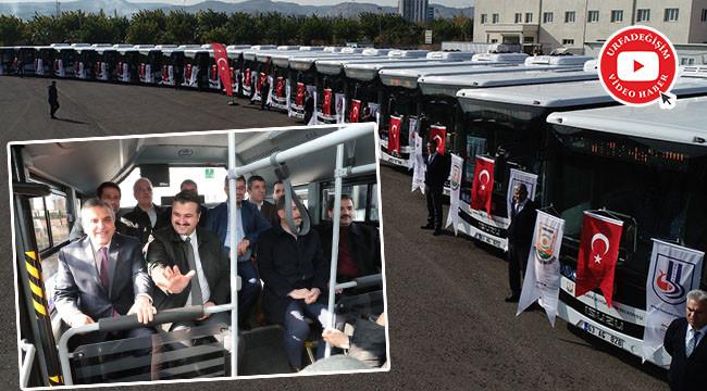 Ulaşıma 27 araç daha katıldı