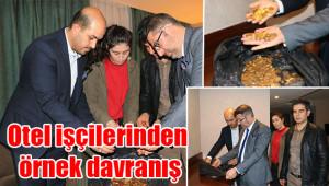 Urfa'daki otelde kilolarca altın bulundu