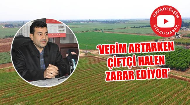 'Yanlış politikalarla tarım geriye gidiyor'