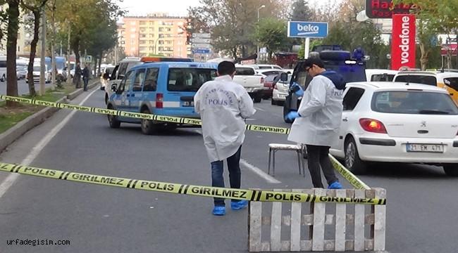 Yol vermeyen taksi sürücüsüne kurşun yağdırdı