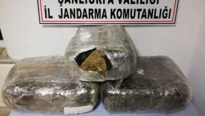 57 kilo esrar ele geçirildi: 3 tutuklu