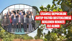 Antep fıstığı sektör temsilcileri buluştu